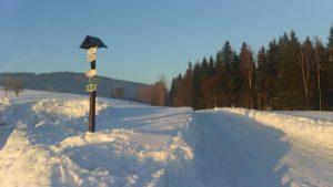 BZáhoří a Buková hora zima